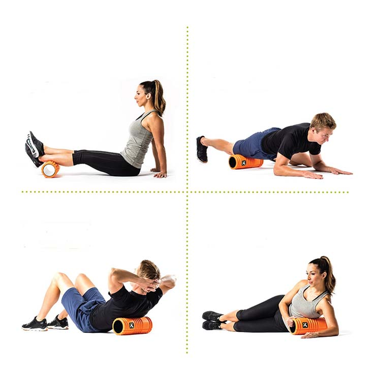 trigger point foam roller exercices