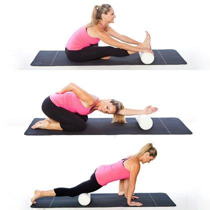 ejercicios flexibilidad con foam roller